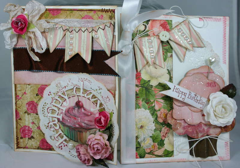 Pink Cupcakes - Birthday Cards