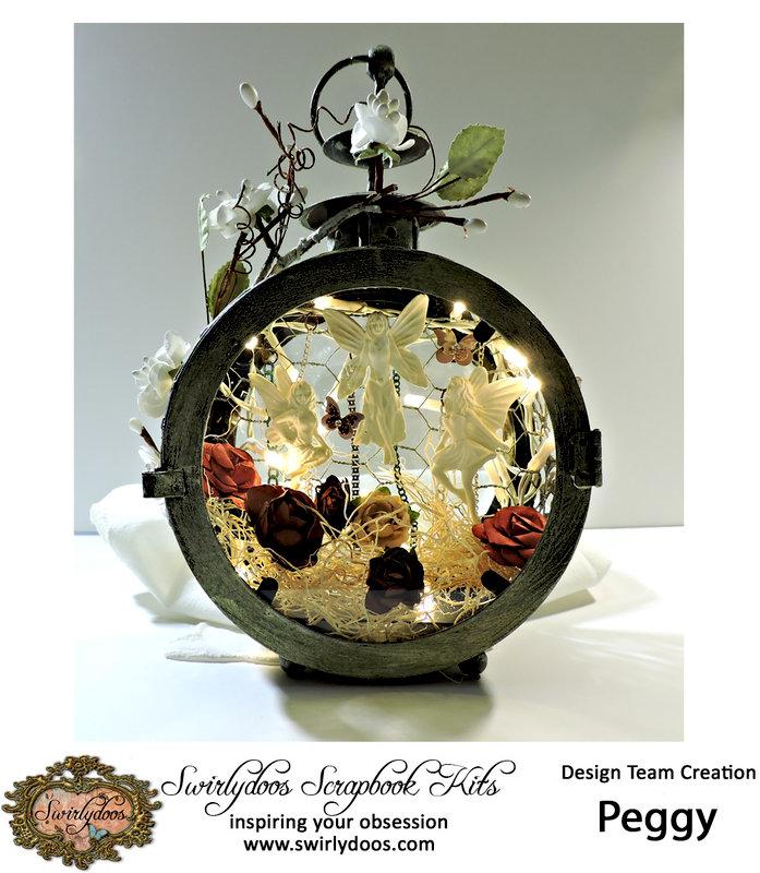 Fairy Garden Lantern ***Swirlydoos***