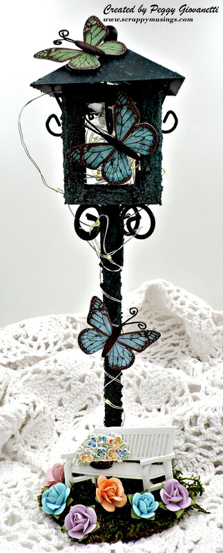 Butterfly Lamppost