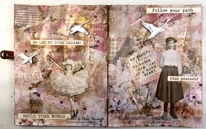 Art Journaling: Build Your Wings
