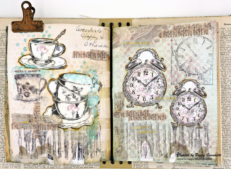 Art Journaling: Some Happy Accidents