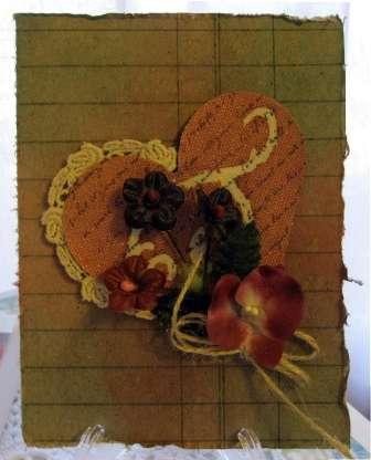 Beeswax Card ***Swirlydoos***
