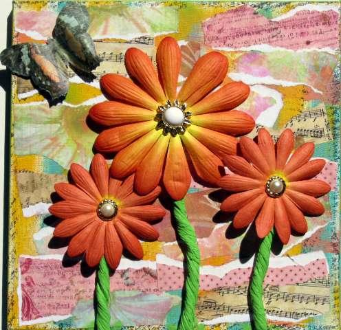 Daisy Canvas ***Swirlydoos***