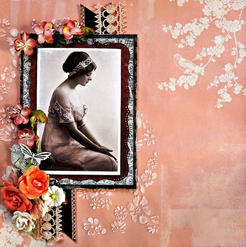 Portrait in Peach ***Swirlydoos***