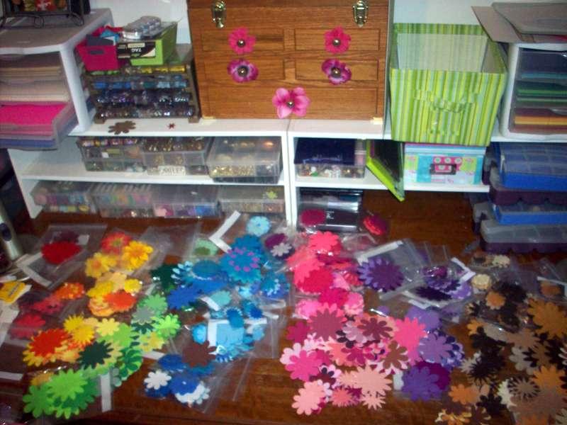 Flowered Frenzy!!