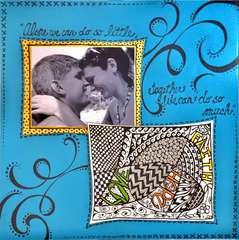 Love, Hope, Faith ZENTANGLE
