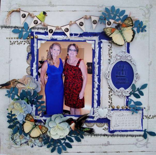 FRIENDS *Scraps of Elegance* Sept-Nostalgia Kit