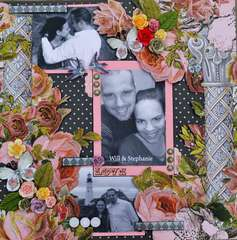 Will & Stephanie *Scraps of Elegance*Aug 2012 Summer Haven