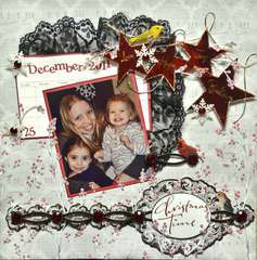 Christmas Time **Dec Scraps of Darkness Kit**