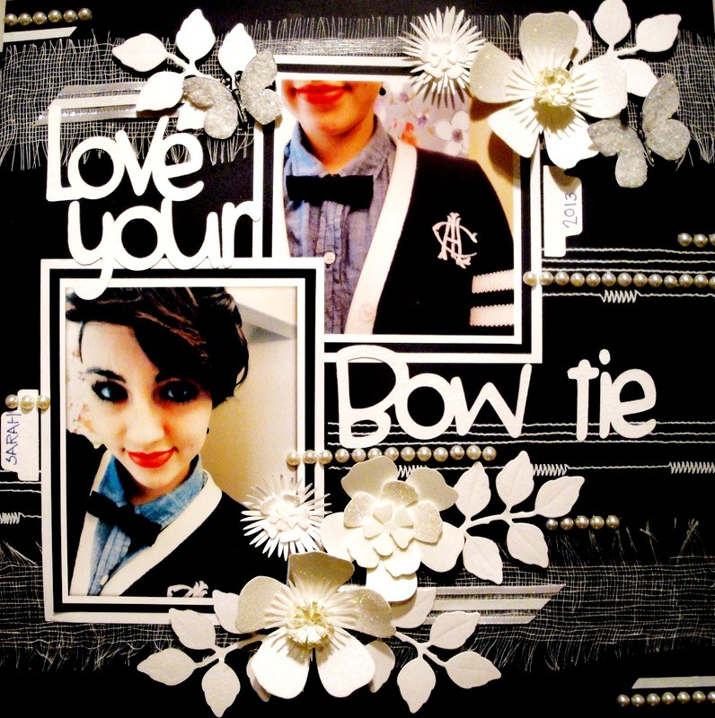 Love you bow tie