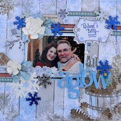All Aglow * Dec Scraps of Elegance* winter wishes
