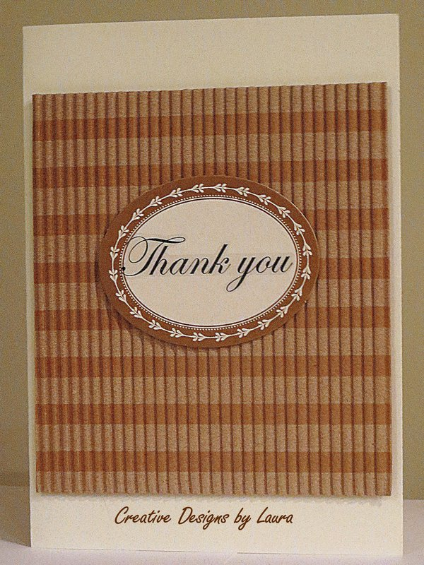 Thank You Card for a Male