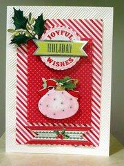 Joyful Holiday Wishes - Anna Griffin