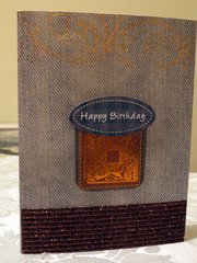 Happy Birthday to a Male Gentleman Friend - Male Card