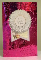 Embossing with Craftwell - Teresa Collins - Floral 8 x 11 Folder
