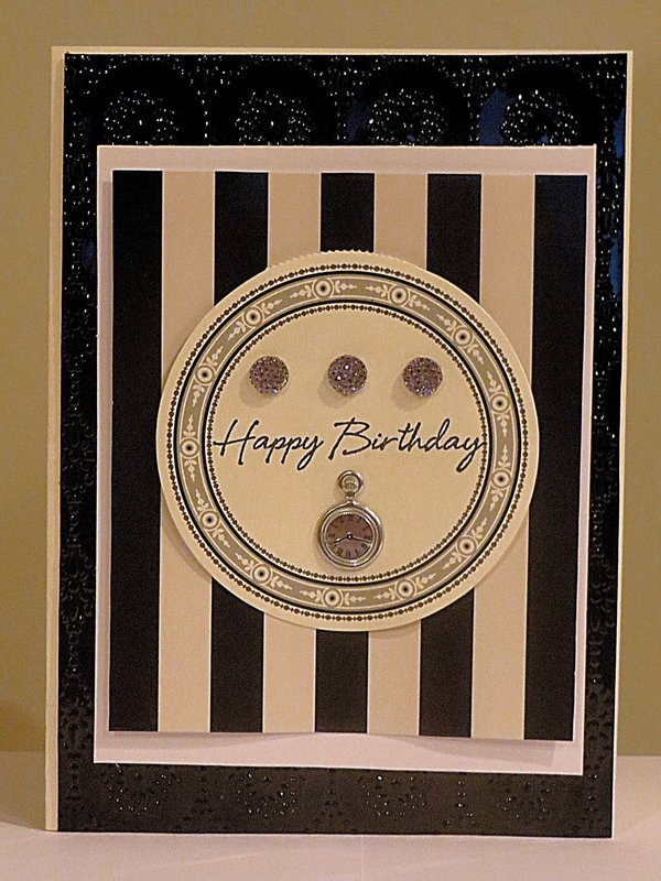 Embossing for a Male Birthday - Anna Griffin
