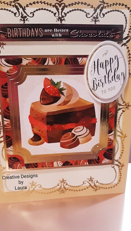 Happy Birthday for a Chocolate Lover