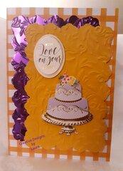 Loving Orange Colors with Royal Purple