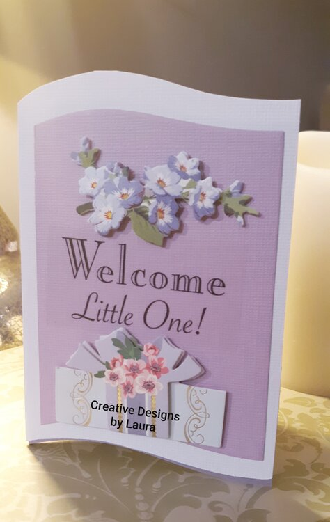 Welcome New Baby Card