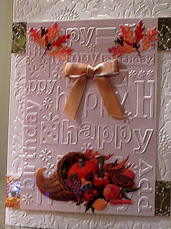 Fall and Harvest Time Birthdays
