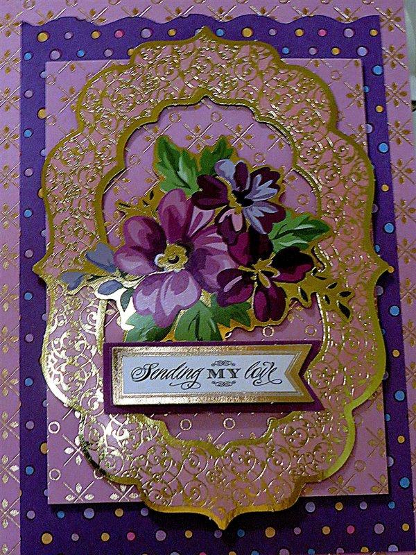 Purple/Lavendar Items from My Stash Delight!