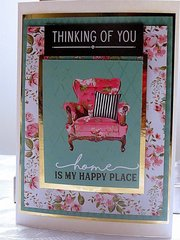Loving the Pretty Print Chair for Resting Delight!
