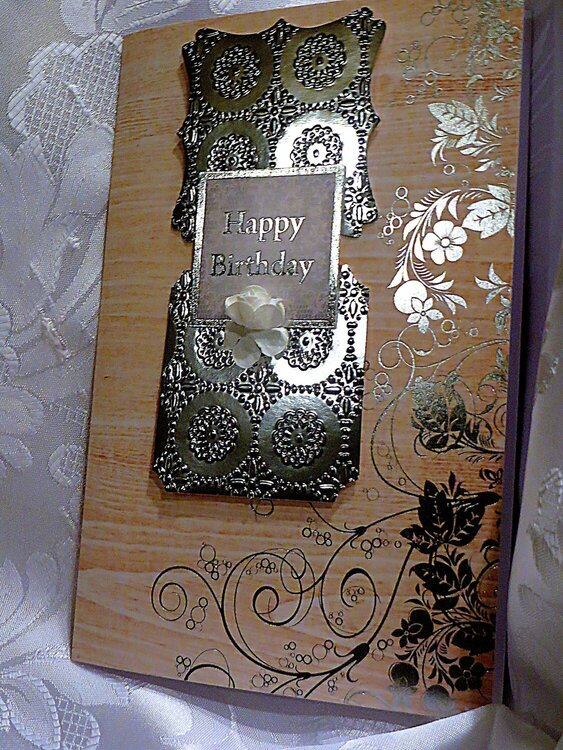 Silver Foil Layout