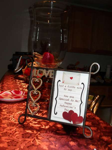 Love Frame with Hearts
