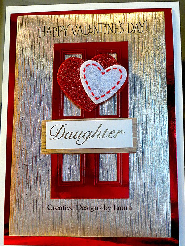 Special Card Request for a Daughter for Valentine's Day