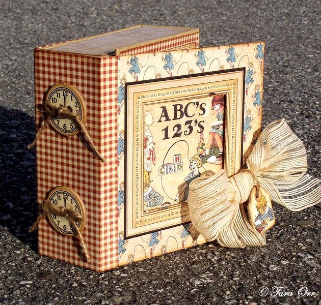 Graphic 45 An ABC Primer Mini Album & Altered Box