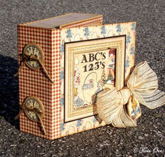 Graphic 45 An ABC Primer Mini Album & Altered Box