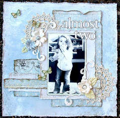 Almost Two * Scrap That! July Kit *