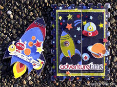 Adventure Card & Invitation Set * Bo Bunny *