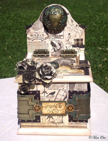 Steampunk Box & Coaster Set