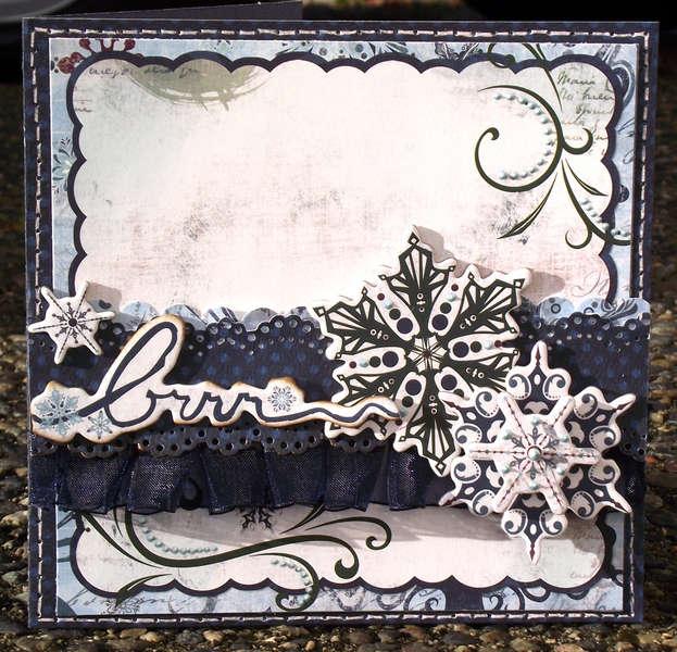 Brrrr Card ** Bo Bunny **