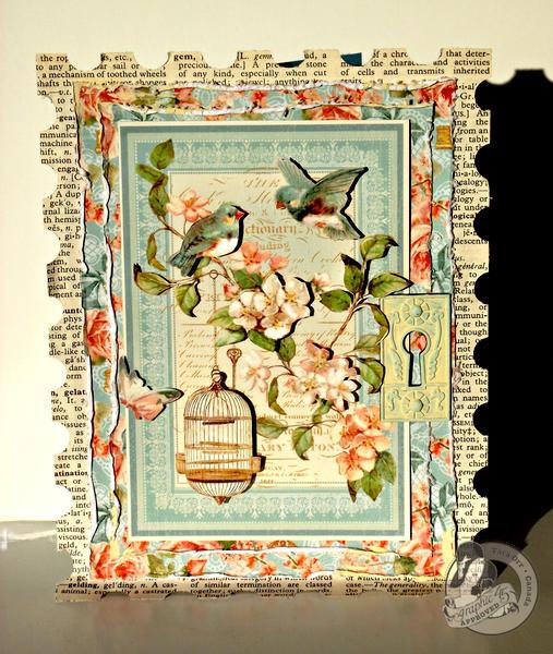 CHA 2013 - Graphic 45 Secret Garden Card