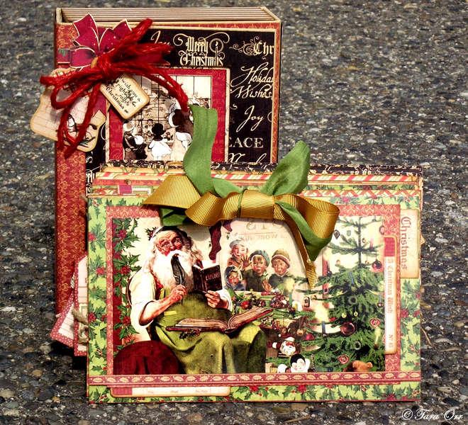 Christmas Emporium Altered Art Box & Calendar