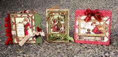 Christmas Card Trio * Graphic 45 *