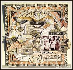 Life Story * Flying Unicorn November Kit *