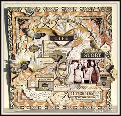 Life Story * Flying Unicorn November Kit *