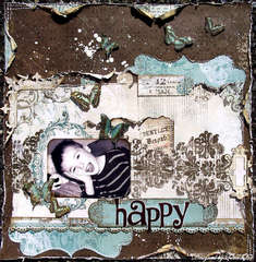 Happy *Scrap That! Madame Butterfly Kit *