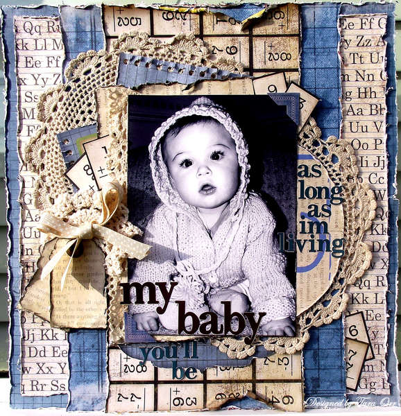My Baby You'll Be * Bo Bunny *