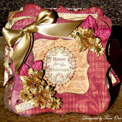 Home For The Holidays Mini Album * Scrap That! *