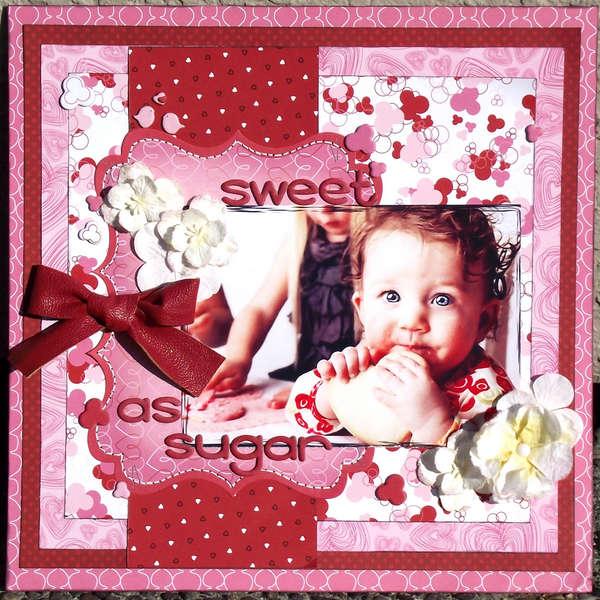 Sweet as Sugar * Bo Bunny & Petaloo *