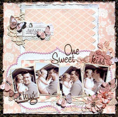 One Sweet Kiss * Scrap That! September Kit *
