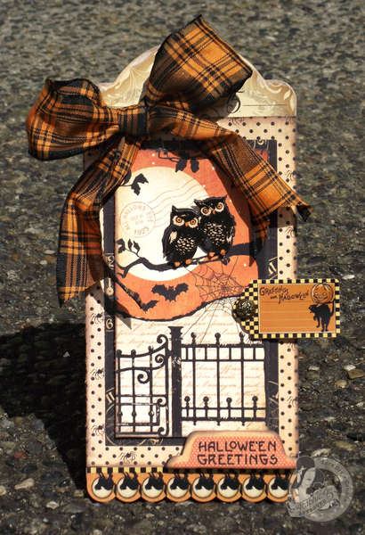 Hallowe'en Greetings Tag