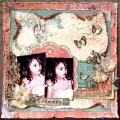 True Beauty *Scrap That! Madame Butterfly Kit *