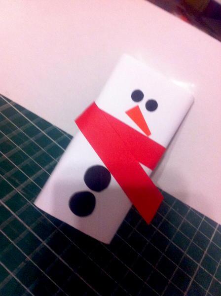 snowman (chocolate)