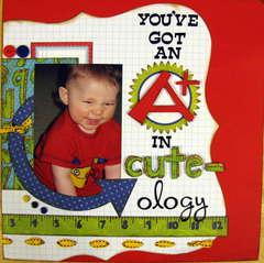you've got an A+ in cute-ology