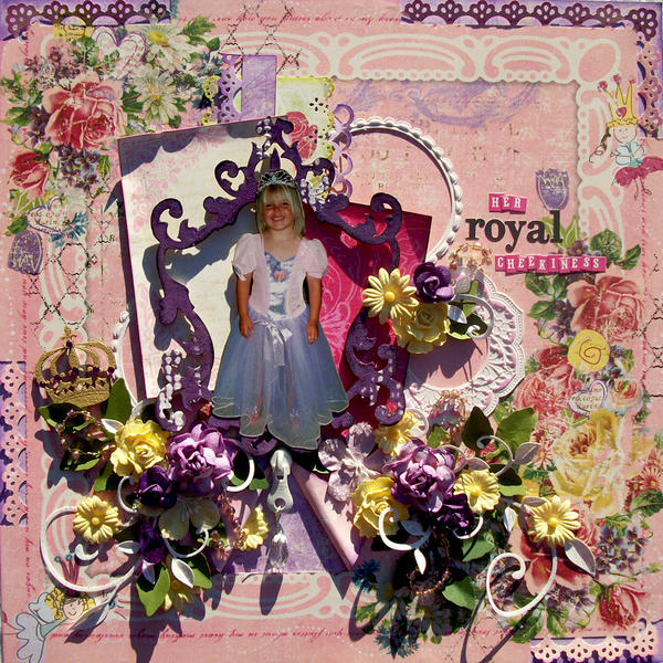 Her royal cheekiness
